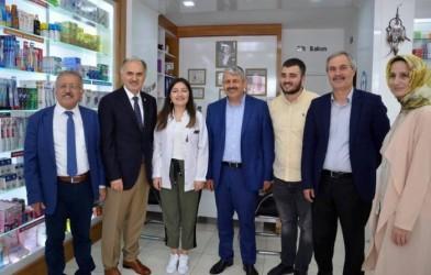 KARADERE'DEN PARTİSİNE DESTEK