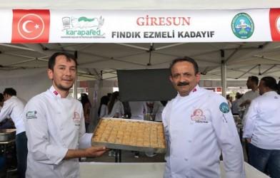 """""""FINDIK EZMELİ KADAYIF"""" BÜYÜK İLGİ GÖRDÜ"""