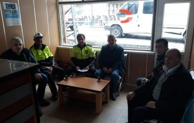 """""""OTOBÜS KAZALARININ  ÖNLENMESİ TOPLANTISI"""""""