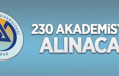AVRASYA ÜNİVERSİTESİ 230 ÖĞRETİM ÜYESİ ALACAK