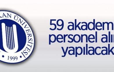 59 ÖĞRETİM ÜYESİ ALINACAK