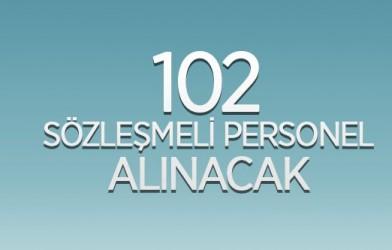 GAZİANTEP ÜNİVERSİTESİ 102 SÖZLEŞMELİ PERSONEL ALACAK