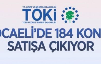 TOKİ KOCAELİ/DİLOVASI KÖSELER'DE 184 KONUTU SATIŞA SUNUYOR