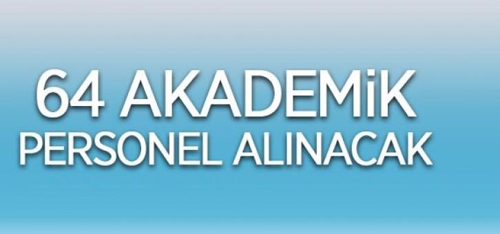 OSMANGAZİ ÜNİVERSİTESİ 64 ÖĞRETİM ÜYESİ ALACAK