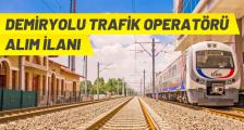 TCDD DEMİRYOLU TRAFİK OPERATÖRÜ ALACAK